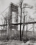 Photographs:20th Century, BERENICE ABBOTT (American, 1898-1991). George Washington BridgeII, 1937. Gelatin silver, circa 1980. 18-3/4 x 15-1/4 in...