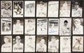 Baseball Collectibles:Others, Baseball Stars Signed Postcards Lot of 21....