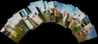 1953-55 Dormand Baseball Postcards Lot of 32
