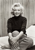 Photographs:20th Century, ALFRED EISENSTAEDT (American, 1898-1995). Marilyn Monroe,1953. Gelatin silver, printed later. 17-1/4 x 12-1/4 inches (4...