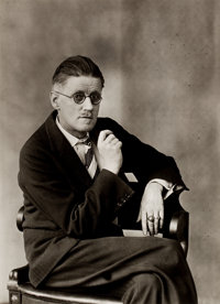 HANK O'NEAL (American, b. 1940) and BERENICE ABBOTT (American, 1898-1991) James Joyce and Transforma