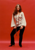 Photographs:20th Century, JIM MARSHALL (American, 1936-2010). Janis, 1967.Chromogenic, 1985. 13-1/2 x 9-1/4 inches (34.3 x 23.5 cm). Recto:signe...