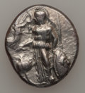 Ancients:Greek, Ancients: PAMPHYLIA. Side. Ca. 380-360 BC. AR stater (10.52 gm)....