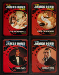 "Movie Posters:James Bond, The James Bond Files (New Media Books, 1986). Softcover Books (4)(Multiple Pages, 8.75"" X 11""). James Bond.. ... (Total: 4 Items)"