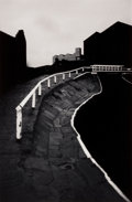 Photographs:20th Century, MICHAEL KENNA (British/American, b. 1953). Two Path, Blackburn,Lancashire, 1984. Gelatin silver, 1985. 9-1/8 x 6 inches...