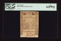 Colonial Notes:Rhode Island, Rhode Island May 1786 10s PCGS New 62PPQ.. ...