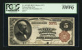 National Bank Notes:Pennsylvania, Philadelphia, PA - $5 1882 Brown Back Fr. 469 The Ninth NB Ch. #3371. ...