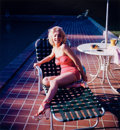 Photographs, HAROLD LLOYD (American, 1893-1971). Marilyn Poolside (Two Photographs), 1952. Chromogenic, 2005. 24 x 20 inches (60.9 x ... (Total: 2 Items)