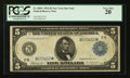 Large Size:Federal Reserve Note, Fr. 850* $5 1914 Federal Reserve Note PCGS Very Fine 20.. ...