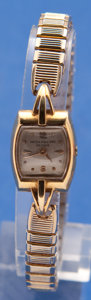 Timepieces:Wristwatch, Patek Philippe Ladies 18k Gold Wristwatch With Metal Band MissingStem & Crown. ...