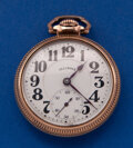 Timepieces:Pocket (post 1900), Illinois 19 Jewel 16 Size Bunn Pocket Watch. ...