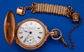 Timepieces:Pocket (post 1900), Elgin 18 Size Box Hinged Hunter's Case. ...