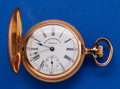 Timepieces:Pocket (post 1900), Waltham 0 Size 14k Gold Private Label. ...
