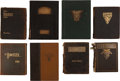 """Football Collectibles:Publications, 1905-33 West Point """"Howitzer"""" Annuals Lot of 8...."""