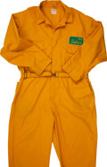 Football Collectibles:Uniforms, Circa 1960's Green Bay Packers Game Worn Cold Weather Usher's Uniform....