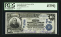 National Bank Notes:Tennessee, Bristol, TN - $10 1902 Plain Back Fr. 624 The NB of Bristol Ch. #(S)2796. ...