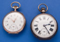 Timepieces:Pocket (post 1900), Two .900 Silver Pocket Watches. ... (Total: 2 Items)