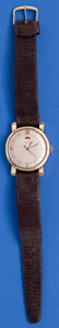 Timepieces:Wristwatch, LeCoultre Gold Filled Bumper Automatic With Power IndicatorWristwatch. ...