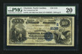 National Bank Notes:North Carolina, Charlotte, NC - $10 1882 Date Back Fr. 542 The Commercial NB Ch. # (S)2135. ...