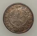 Colombia, Colombia: Popayan two varieties of 1829 Real,... (Total: 2 coins)