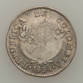 Colombia, Colombia: Both mints 1834 Republica Real duet,... (Total: 2 coins)
