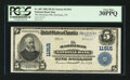National Bank Notes:Tennessee, Harriman, TN - $5 1902 Plain Back Fr. 607 The Harriman NB Ch. #11915. ...