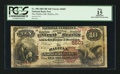 National Bank Notes:Pennsylvania, Halifax, PA - $10 1882 Brown Back Fr. 490 The Halifax NB Ch. #(E)5601. ...