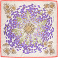 "Luxury Accessories:Accessories, Hermes Silk Scarf, ""Fleurs et Carlines"" by Rybal, 36"" x 36"", Excellent Condition. ..."