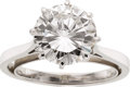 Estate Jewelry:Rings, Diamond, Platinum, White Gold Ring. ...