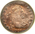 Early Dimes, 1807 10C MS64 PCGS. CAC. JR-1, R.2....