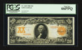 Large Size:Gold Certificates, Fr. 1185 $20 1906 Gold Certificate PCGS Gem New 66PPQ.. ...
