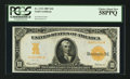 Large Size:Gold Certificates, Fr. 1172 $10 1907 Gold Certificate PCGS Choice About New 58PPQ.....