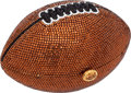 "Luxury Accessories:Bags, Finesse La Model Vintage Full Bead Bronze Football Minaudiere, 6"" x4"" x 4"", Pristine Condition. ..."