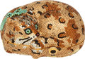 Luxury Accessories:Bags, Kathrine Baumann #74/500 Full Bead Brown & Gold Tabby CatMinaudiere. ...