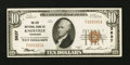 National Bank Notes:Tennessee, Knoxville, TN - $10 1929 Ty. 1 The City NB Ch. # 3837. ...