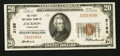 National Bank Notes:Tennessee, Jackson, TN - $20 1929 Ty. 1 The First NB Ch. # 2168. ...