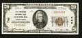 National Bank Notes:Pennsylvania, Lewisburg, PA - $20 1929 Ty. 1 The Lewisburg NB Ch. # 745. ...