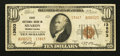 National Bank Notes:Pennsylvania, Sharon, PA - $10 1929 Ty. 2 First NB Ch. # 13803. ...