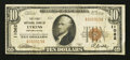 National Bank Notes:Pennsylvania, Lykens, PA - $10 1929 Ty. 1 The First NB Ch. # 11062. ...