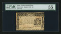 Colonial Notes:New York, New York March 5, 1776 $1 PMG About Uncirculated 55.. ...