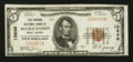 National Bank Notes:West Virginia, Buckhannon, WV - $5 1929 Ty. 1 The Central NB Ch. # 13646. ...