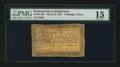 Colonial Notes:Pennsylvania, Pennsylvania March 16, 1785 2s 6d PMG Choice Fine 15.. ...