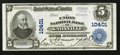 National Bank Notes:Tennessee, Knoxville, TN - $5 1902 Plain Back Fr. 604 The Union NB Ch. #10401. ...