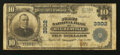 National Bank Notes:Pennsylvania, Hughesville, PA - $10 1902 Plain Back Fr. 626 The First NB Ch. #3902. ...