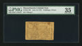 Colonial Notes:Massachusetts, Massachusetts June 18, 1776 4s 4d PMG Choice Very Fine 35.. ...
