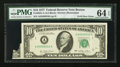 Error Notes:Foldovers, Fr. 2023-A $10 1977 Federal Reserve Note. PMG Choice Uncirculated64 EPQ.. ...