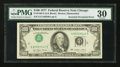 Error Notes:Inverted Third Printings, Fr. 2168-G $100 1977 Federal Reserve Note. PMG Very Fine 30.. ...