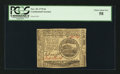 Colonial Notes:Continental Congress Issues, Continental Currency November 29, 1775 $4 PCGS Choice About New58.. ...