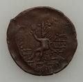"Colombia, Colombia: Cartagena Four ""Undated"" Copper 2-Rs,... (Total: 4 coins)"