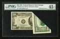 Error Notes:Foldovers, Fr. 2073-G $20 1981 Federal Reserve Note. PMG Choice Extremely Fine 45 EPQ.. ...